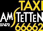 Taxi Amstetten Logo weiß