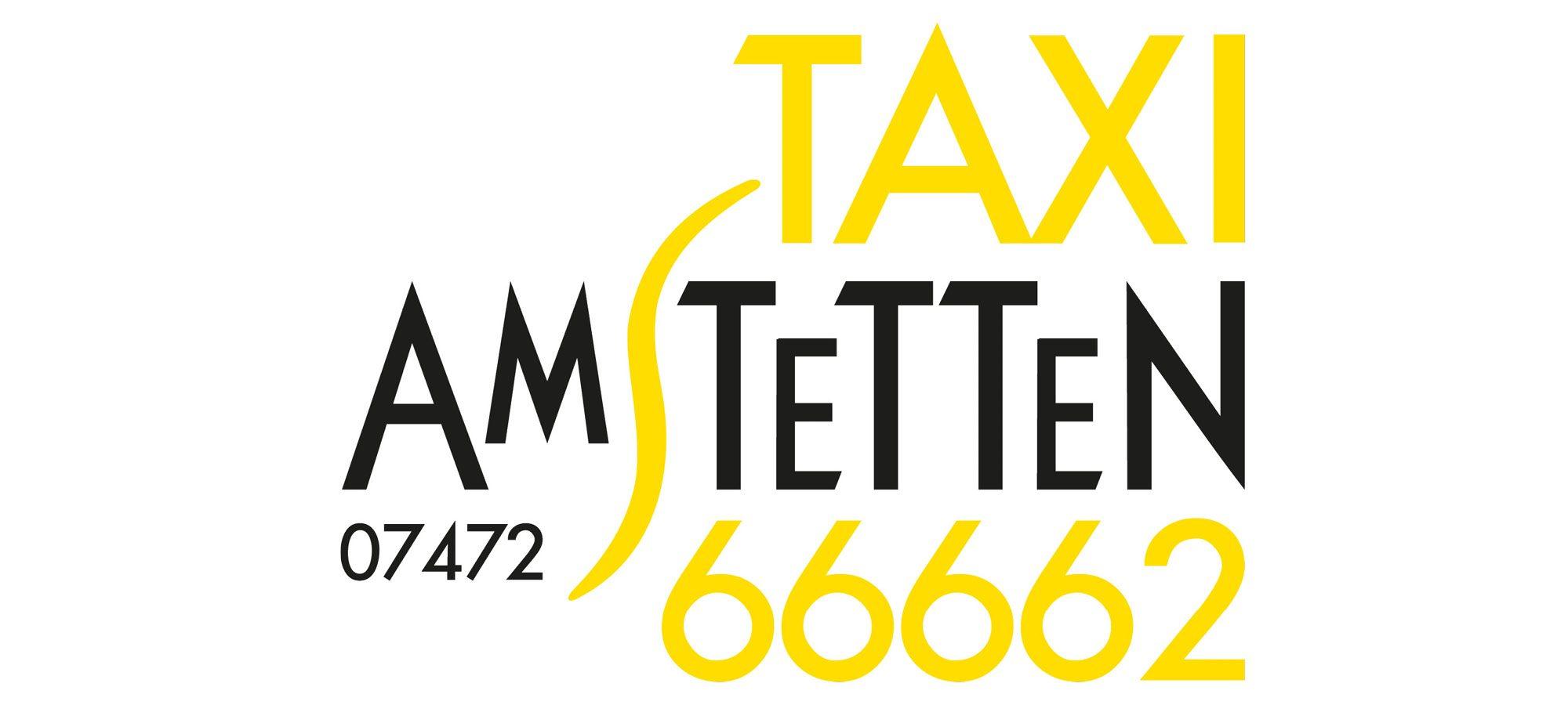 Taxi Amstetten Logo schwarz